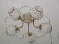 Люстра потолочная на 5 плафонов