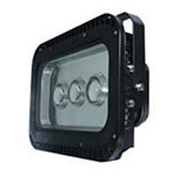 Светодиодный прожектор LEMANSO 150w 6500K IP65 3LED чёрный