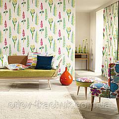 Обои бумажные Floral Bazaar Papavera Wallpapers Sanderson