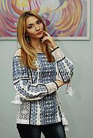 Блуза с вышивкой БЖ 20-033
