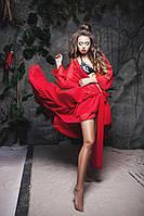 Туника женская , с длиным рукавом! материал шифон , 4 расцветки фото реал ,хорошее качество яя №01437
