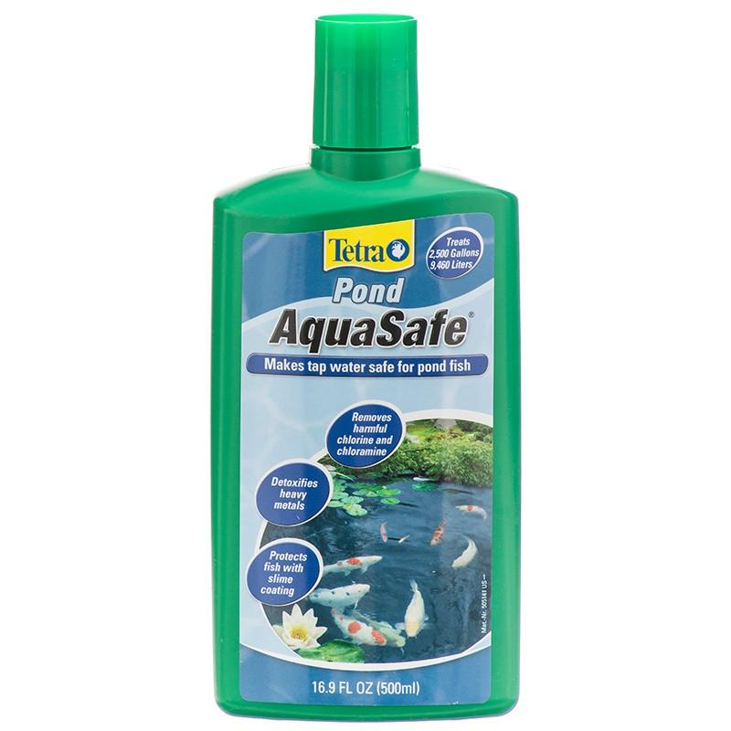 Tetra Pond AquaSafe средство для подготовки прудовой воды, 500 мл - Интернет-зоомагазин Royal Zoo в Харькове