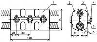 Зажим переходной (типа ПАМ) - КС-069