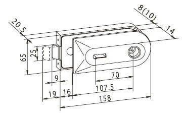 BB Lock с петлями, фото 2
