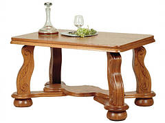 "Элегантный столик из дерева ""CEZAR"" средний (117х75х74 см)"