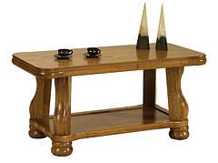 """Элегантный столик из дерева """"AREK II"""" (125х60х60 см)"""