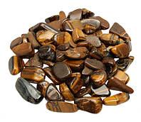 Камни для декора Тигровый Глаз (6-15 мм) 100 грамм
