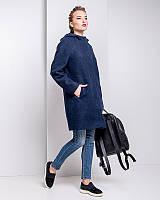 Зимнее молодежное пальто из итальянской шерсти u-alb0037
