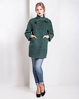 Очень теплое буклированное пальто из итальянской шерсти (разные цвета) u-alb02110