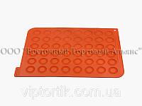 Силіконовий килимок для печива Макаронс професійний 300 x 400 h 1,5 мм – Ø 35 мм