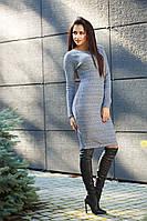 Теплое шерстяное женское платье -53032168