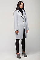 """Пальто женское """"Mirey"""".светло-серый"""