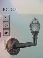 Держатель для штор металлический BG 723