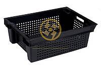 Пластиковые ящики из вторичного сырья 600x400x200