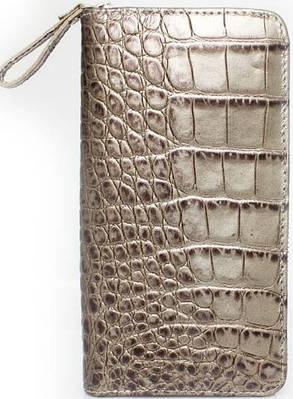 f162d25f8b3f Женский вместительный кошелек из натуральной кожи Mykhail Ikhtyar (МИХАИЛ  ИХТЯР) 6715 серый