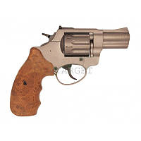 "Револьвер флобера STALKER S 4 мм 2,5"" коричн. рук.(силумин.барабан)"