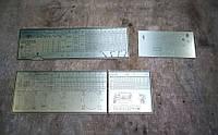 Набор таблиц для станка 1В62Г