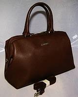 Компактная вместительная женская сумка Fashion (Фэшн). Отличное качество. Доступная цена. Дешево.  Код: КГ844