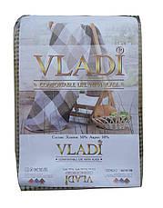 Покрывало клетчатое 1,5  Vladi, фото 3