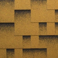 Битумная черепица Katepal Rocky золотой песок