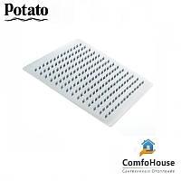 Лейка потолочная квадратная POTATO P104-40 40 см