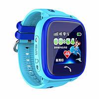 Детские умные gps часы Водонепроницаемые Smart baby watch DF25(ip67) blue Гарантия 12 мес