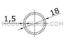Труба Ø 18 мм, фото 2