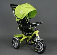 Детский трехколесный велосипед Best Trike 5388 Green колеса резина