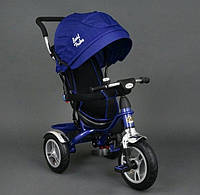 Детский трехколесный велосипед Best Trike 5388 Navy колеса резина
