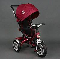 Детский трехколесный велосипед Best Trike 5388 Red колеса резина