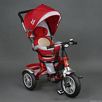 Детский трехколесный велосипед Best Trike 5688 красный Поворотное сидение