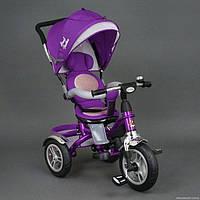Детский трехколесный велосипед Best Trike 5688 фиолетовый Поворотное сидение