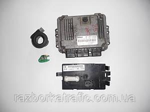 Блок управления двигателем 2,5, иммобилайзер, чип ключа, блок комфорта (Комплект) на Trafic, Vivaro, Primastar