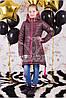 """Демисезонная куртка для девочки """"Seven"""" шоколад"""