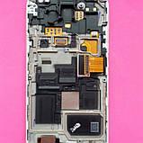 Дисплей для Samsung I9190 Galaxy S4 mini I9192 Galaxy S4 Mini DuosI9195 Galaxy S4 белый с тачскрином б/у, фото 2