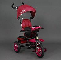 Детский трехколесный велосипед Best Trike 6699 Red поворотное сидение