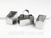Набор форм для гарнира - 8х4 см (3 шт.)
