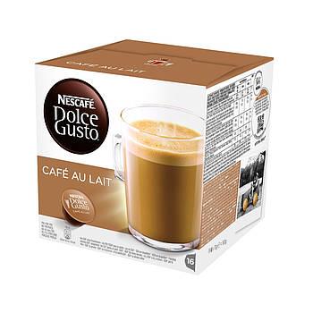 Кофе в капсулах NESCAFE Dolce Gusto Cafe Au Lait