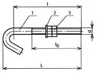 Болт крюковой - КС-107