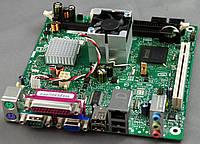 Материнская плата INTEL D945GCLF и интегрированным процессором бу