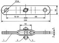 Планка распорная - КС-111