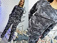 Теплый женский спортивный костюм н-5605296