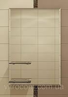 Зеркало с фацетом и двумя полками для ванной 70х50 см