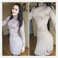 Вязанное женское платье к-51032407