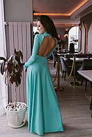 Длинное женское вечернее платье у-53032409