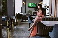 Длинное женское шифоновое платье у-53032411