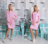 Вязанное женское платье к-0332424
