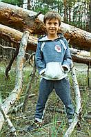 Детский спортивный костюм для мальчика темно-синий Модный Карапуз