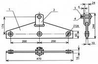 Коромысло для анкеровки проводов - КС-113