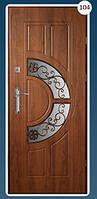 Входные двери с ковкой Економ 104